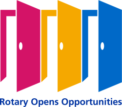 2020-21 Theme logo - Rotary Opens Opportunities