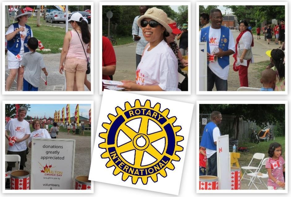 Milton Rotary Canada Day 2014