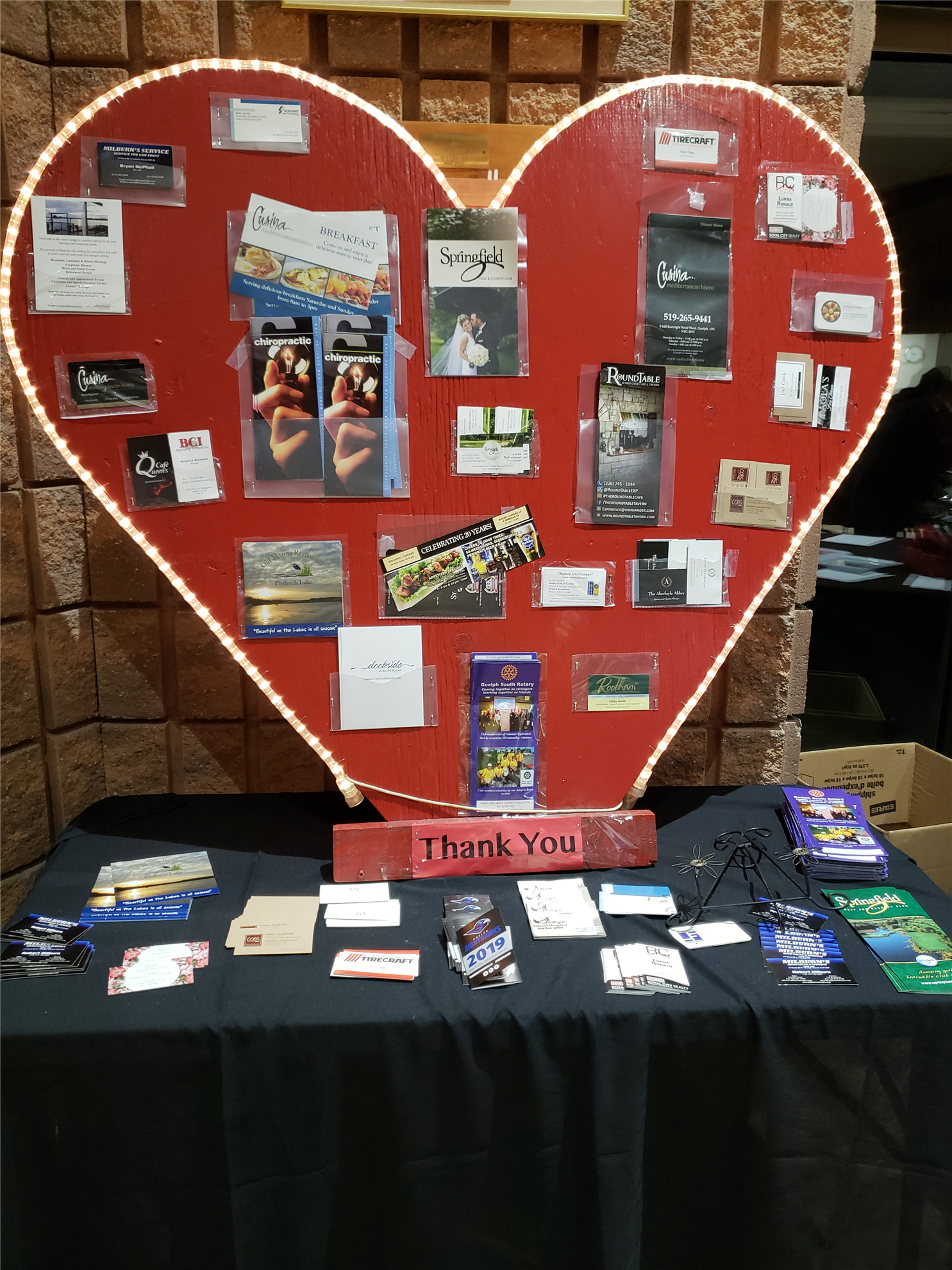 Some Valentines Day love and recognition for our sponsors and donors