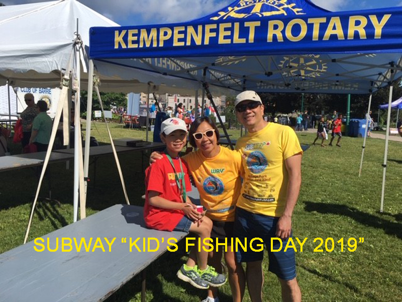 Subway Kids Fishing Day
