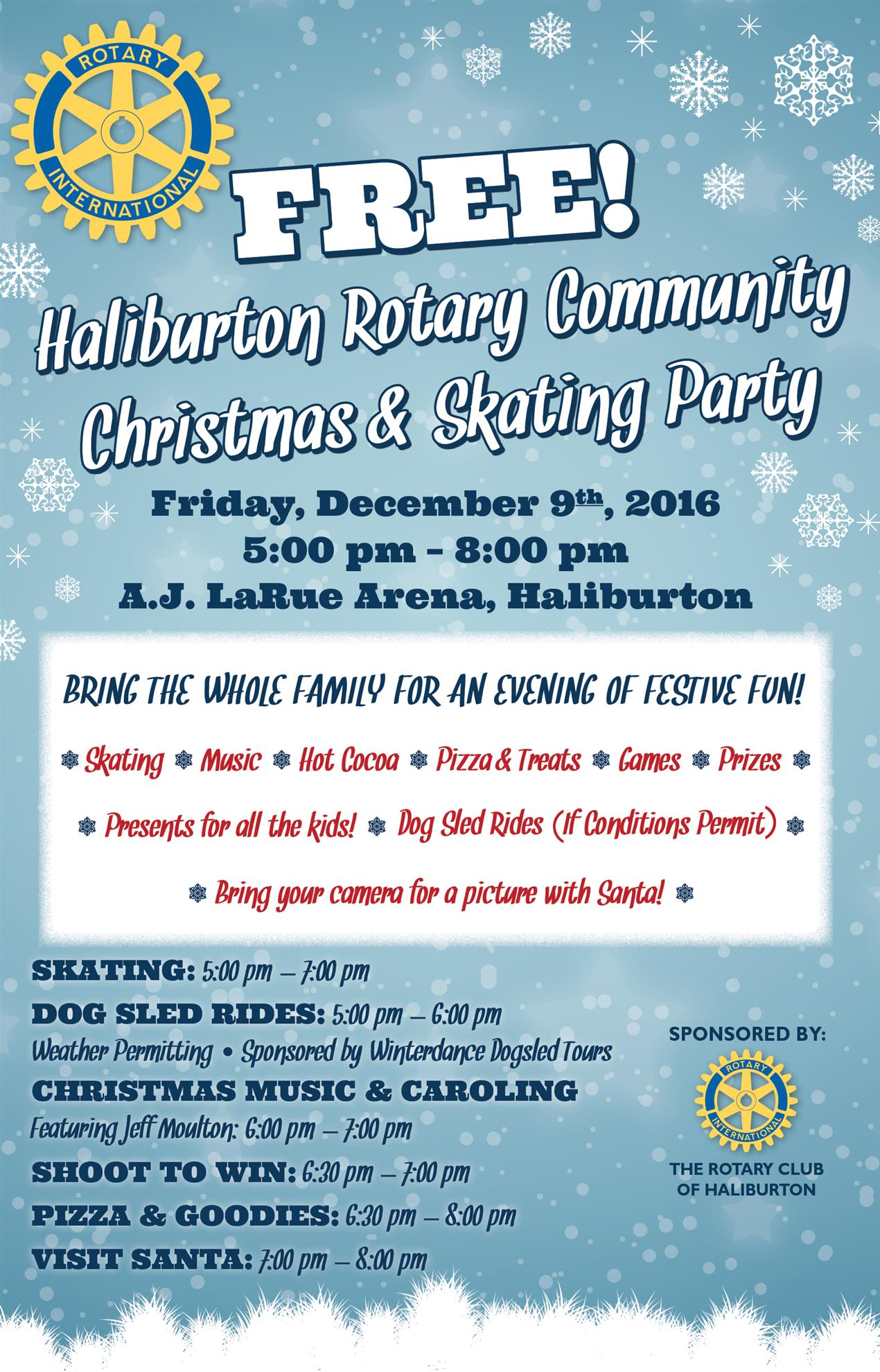 Stories rotary club of haliburton rotary community christmas party spiritdancerdesigns Gallery