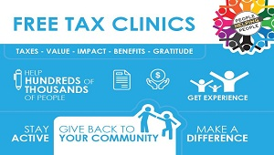 Community Volunteer Income Tax Program in Sherwood Library