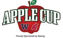The Apple Cup is an American college football rivalry between the  University of Washington Huskies and Washington State University Cougars. f92b8fb06