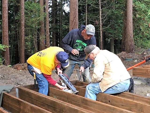 Fire Mt. Staff Cabin Project