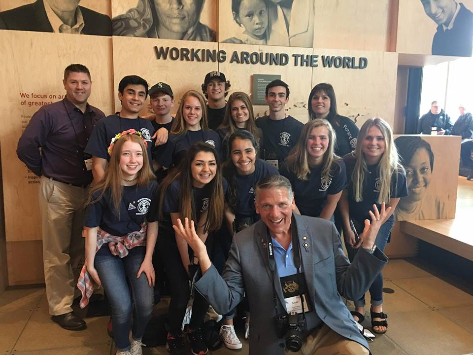 Gates Foundation Tour with Interact Club
