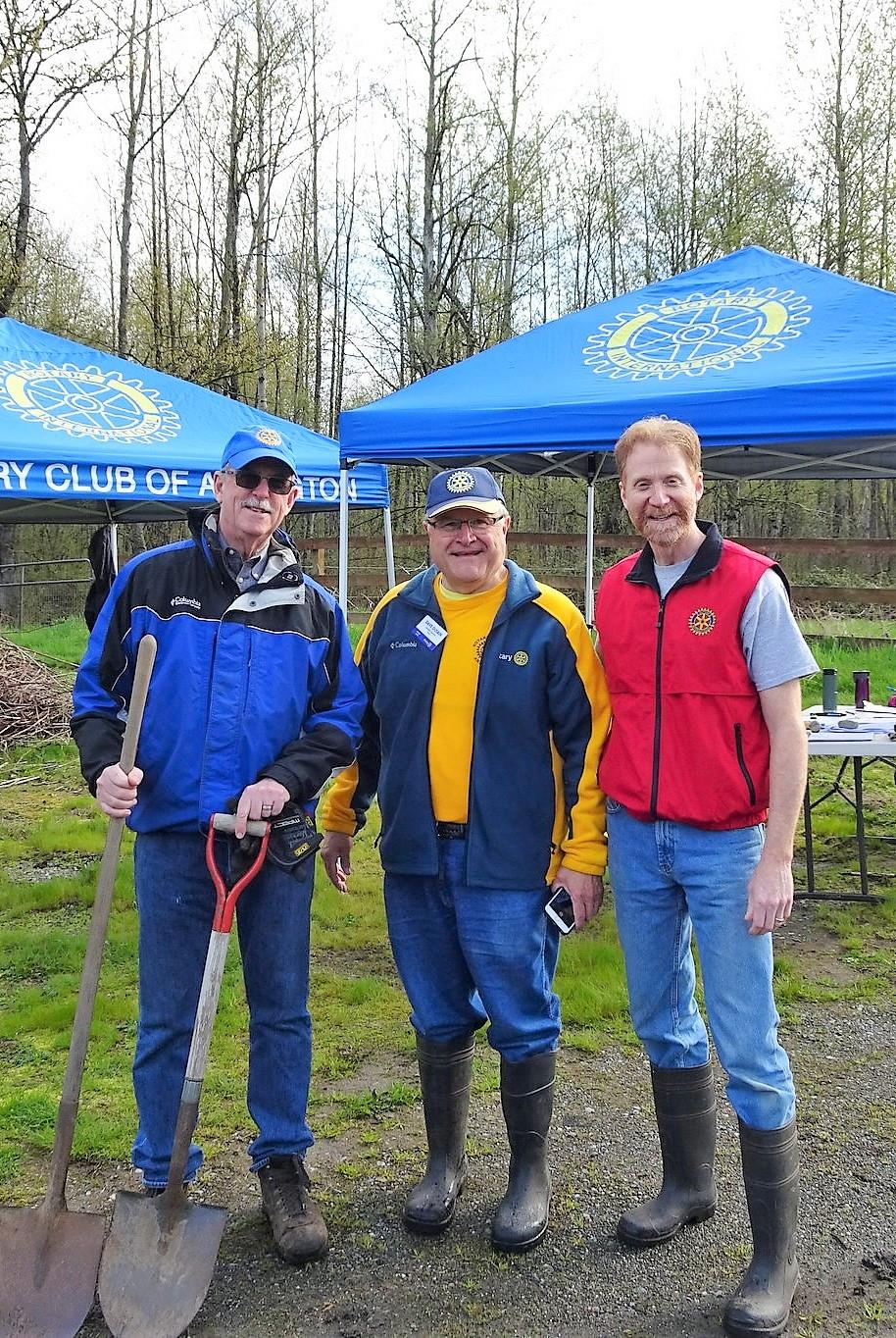 Dave With Terry and Charlie (Stanwood)