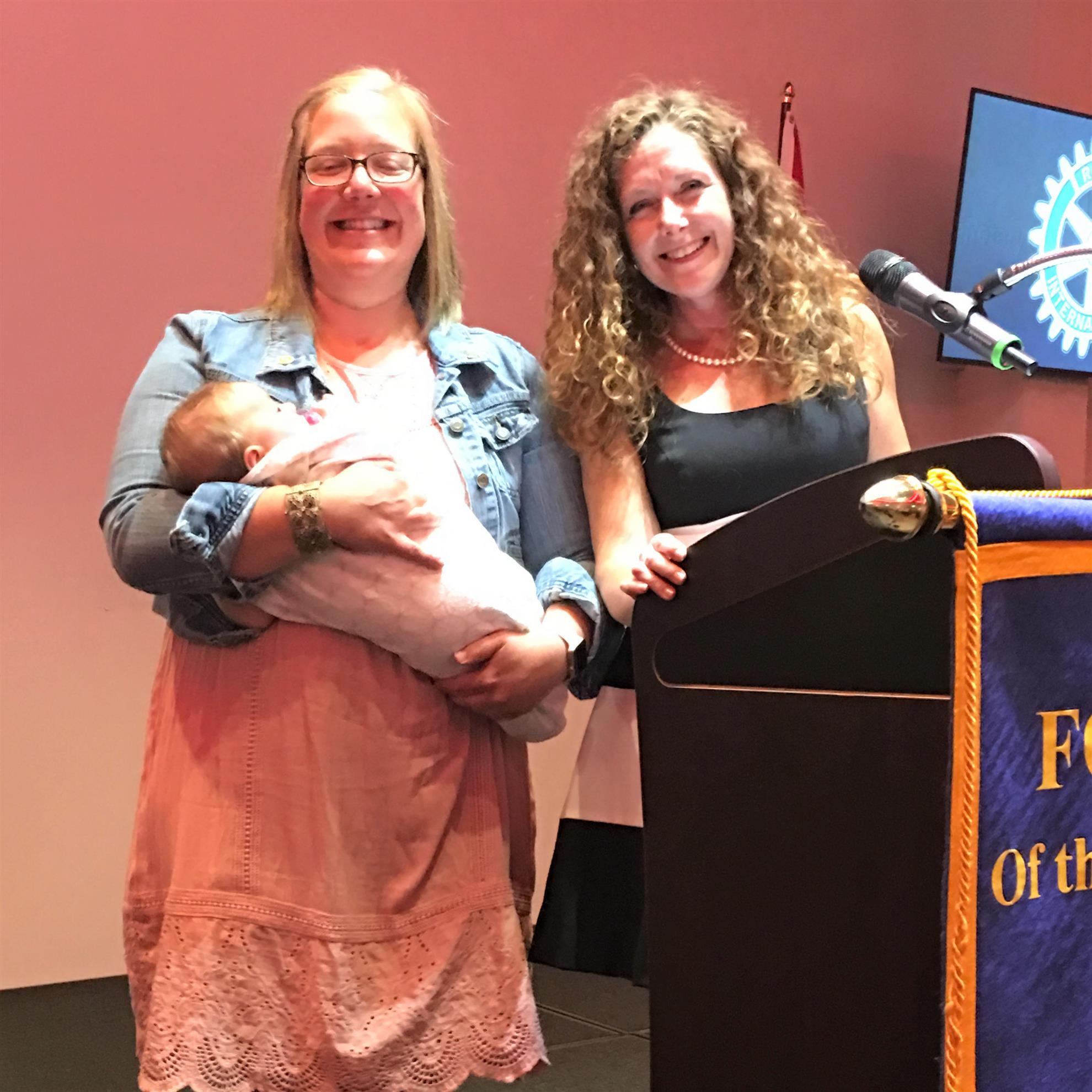 Recognition of Jessica Ronhaar--PR Director