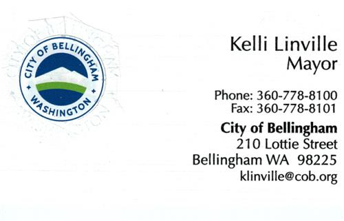 Mayor Kelli Linville