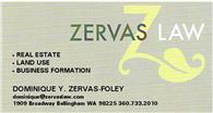 Zervas Law