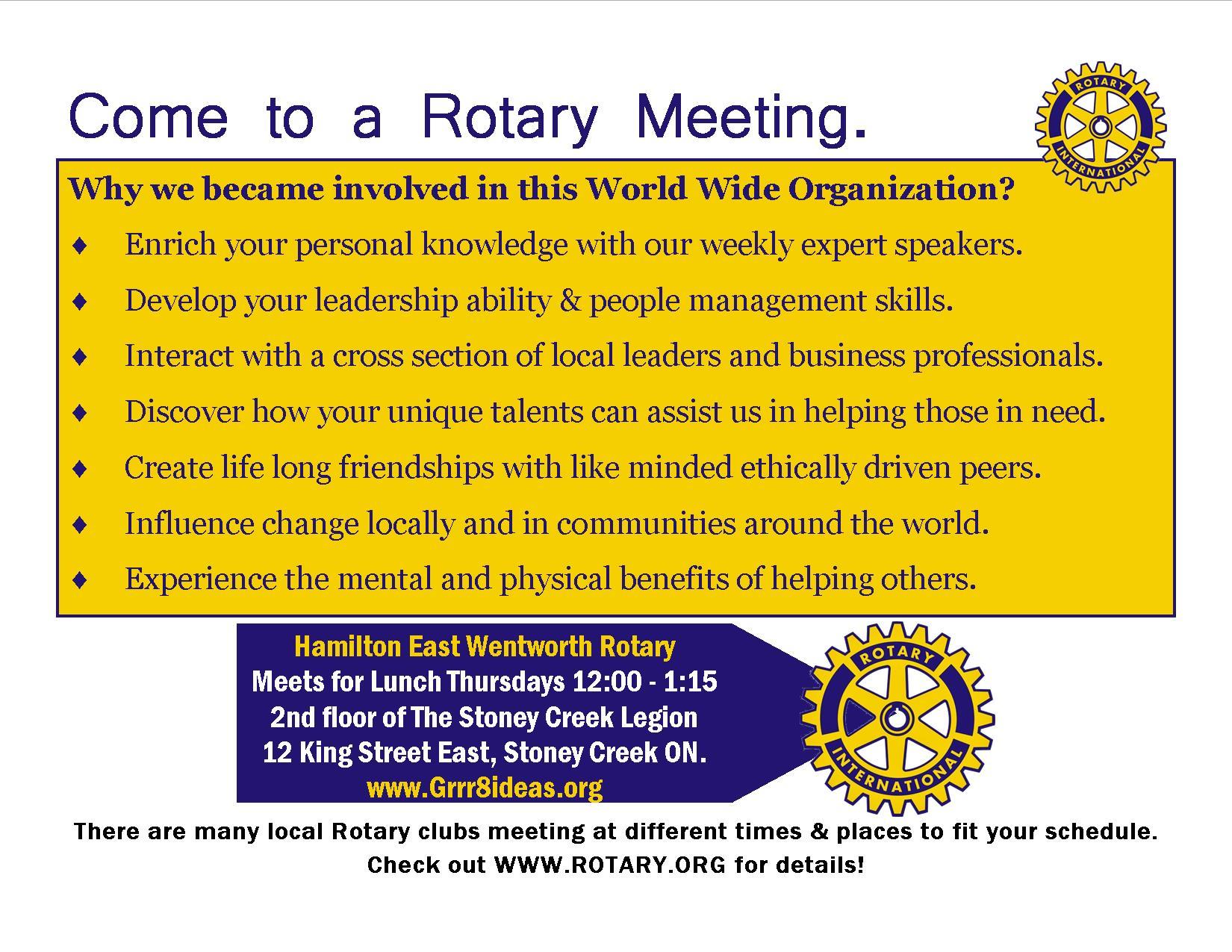 Home Page Rotary Club Of Hamilton East Wentworth