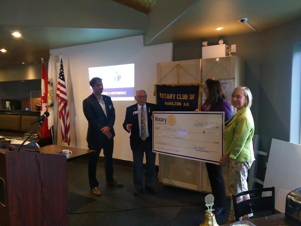 District Governor Reg Madison   Rotary Club of Hamilton AM