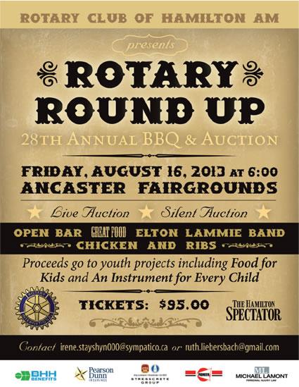 Rotary Round Up BBQ/Auction