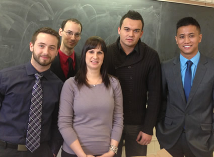 Team from Mohawk Financial Services Class
