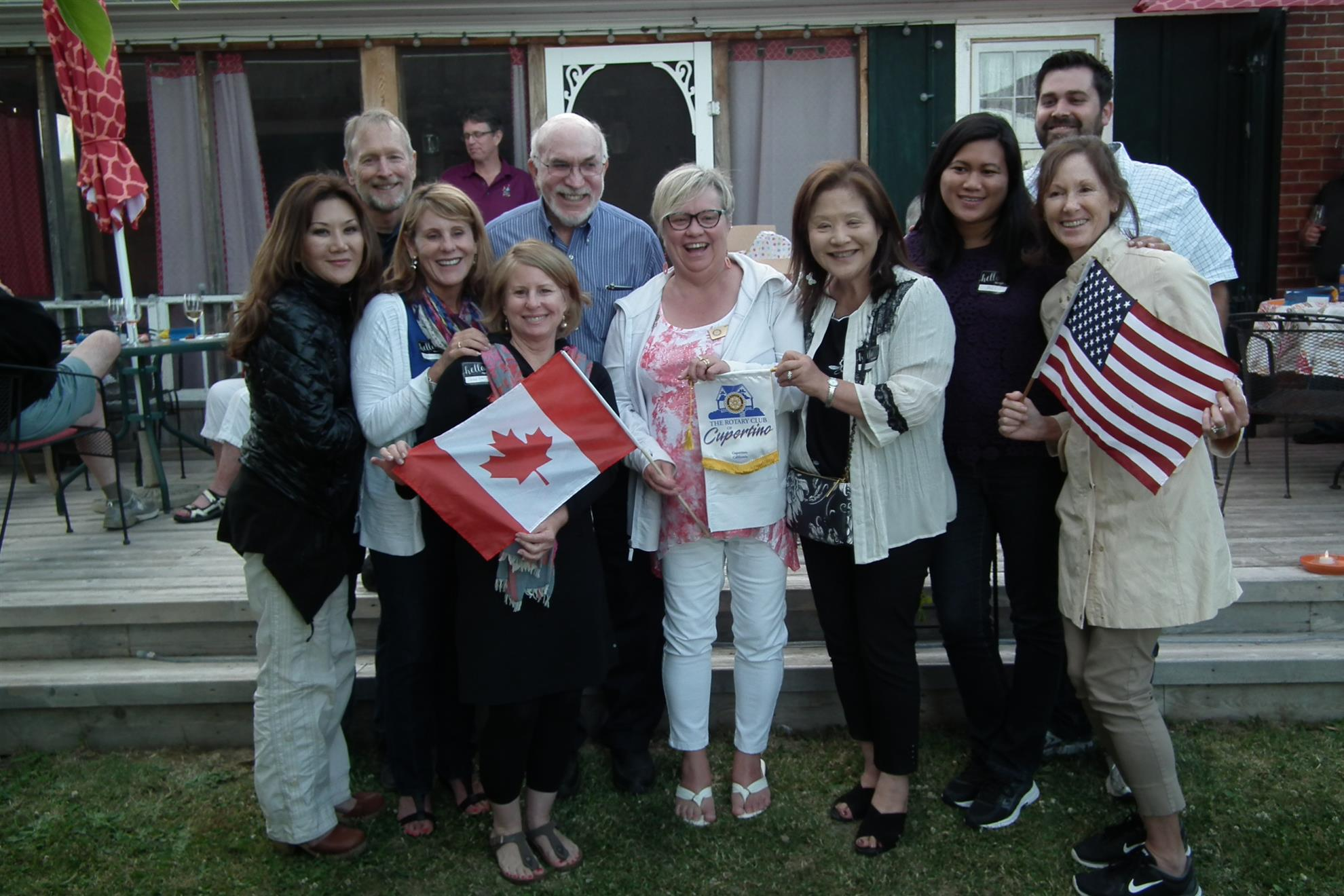 Visiting Californians before RI Convention in Toronto