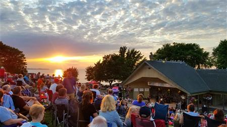 Sunset Music Series at the Rotary Band Shell
