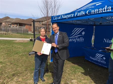 Tree Planting Apr 27 2018 Rotary Club Of Niagara Falls