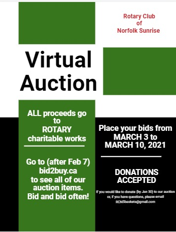 Bargains, Bling & Blarney - 2021 Virtual Auction