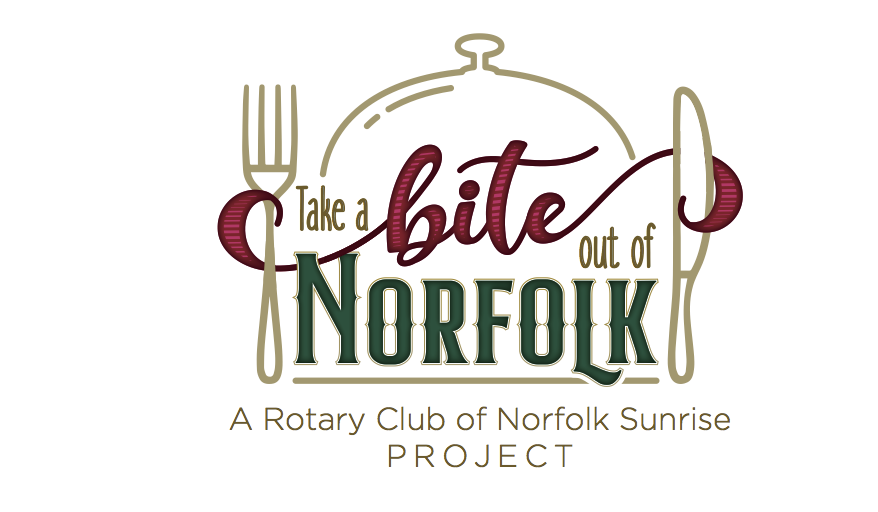 Take a Bite Out Of Norfolk Rotary Norfolk Sunrise Fundraiser Gift Basket
