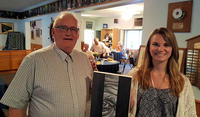 Alyssa  Suderman 2016 Gord Watts Fine Arts Scholarship Winner