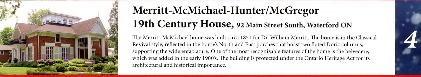 Merritt-McMichael-Hunter/McGregor 19th Century Home
