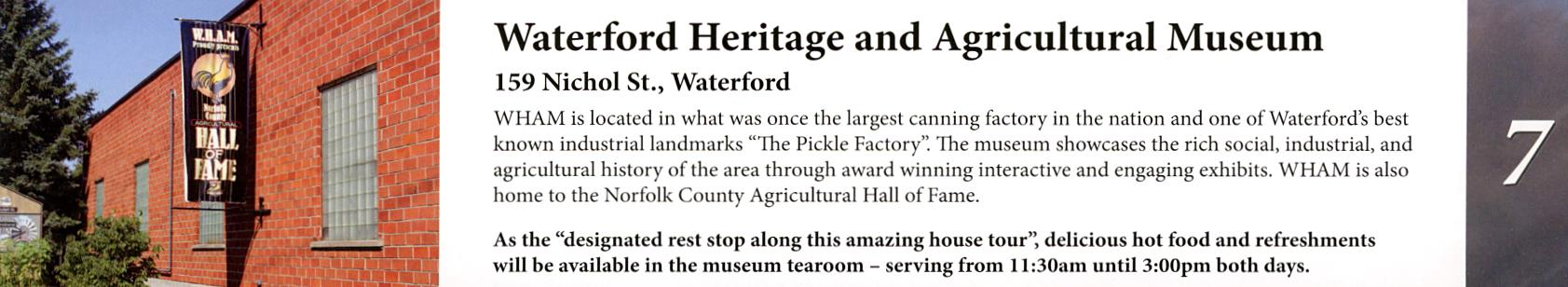 Waterford Heritage and Agricultural Musuem