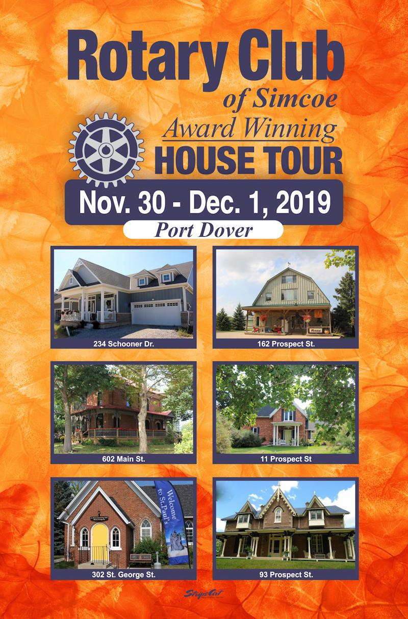 2019 Rotary House Tour Poster