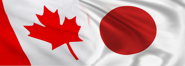 Canada_Japan Flags