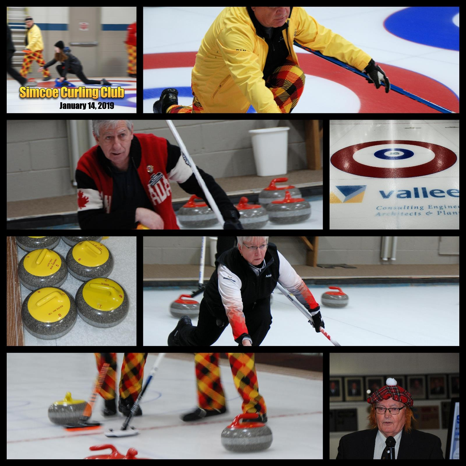 Rotary Curlers, January 14, 2019