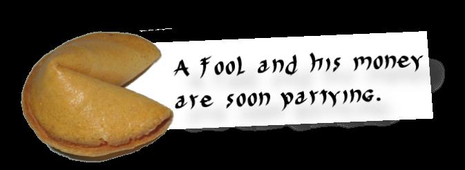 Fortune Cookie N0. 8