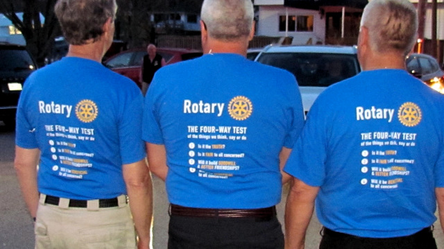 Rotary Beer Can T-Shirts - Four Way Test