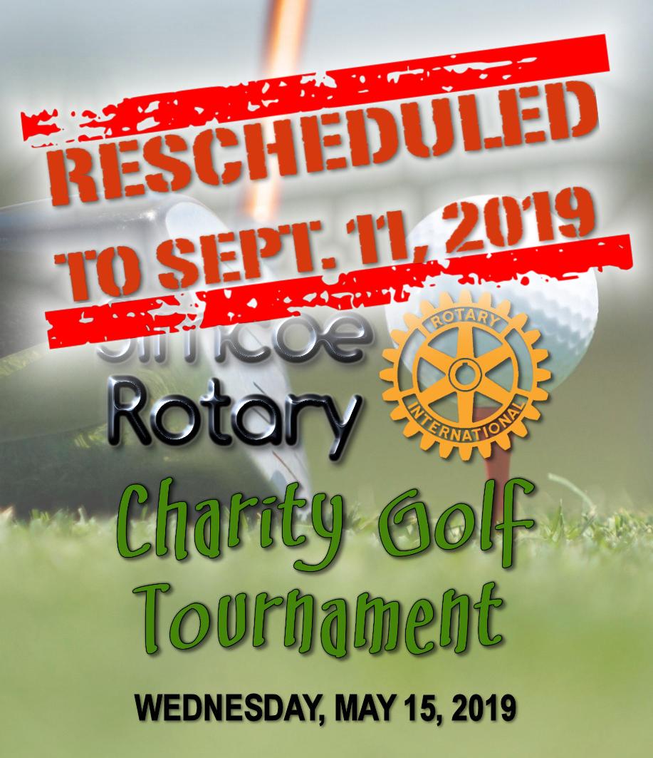 Rescheduled Golf Tournament