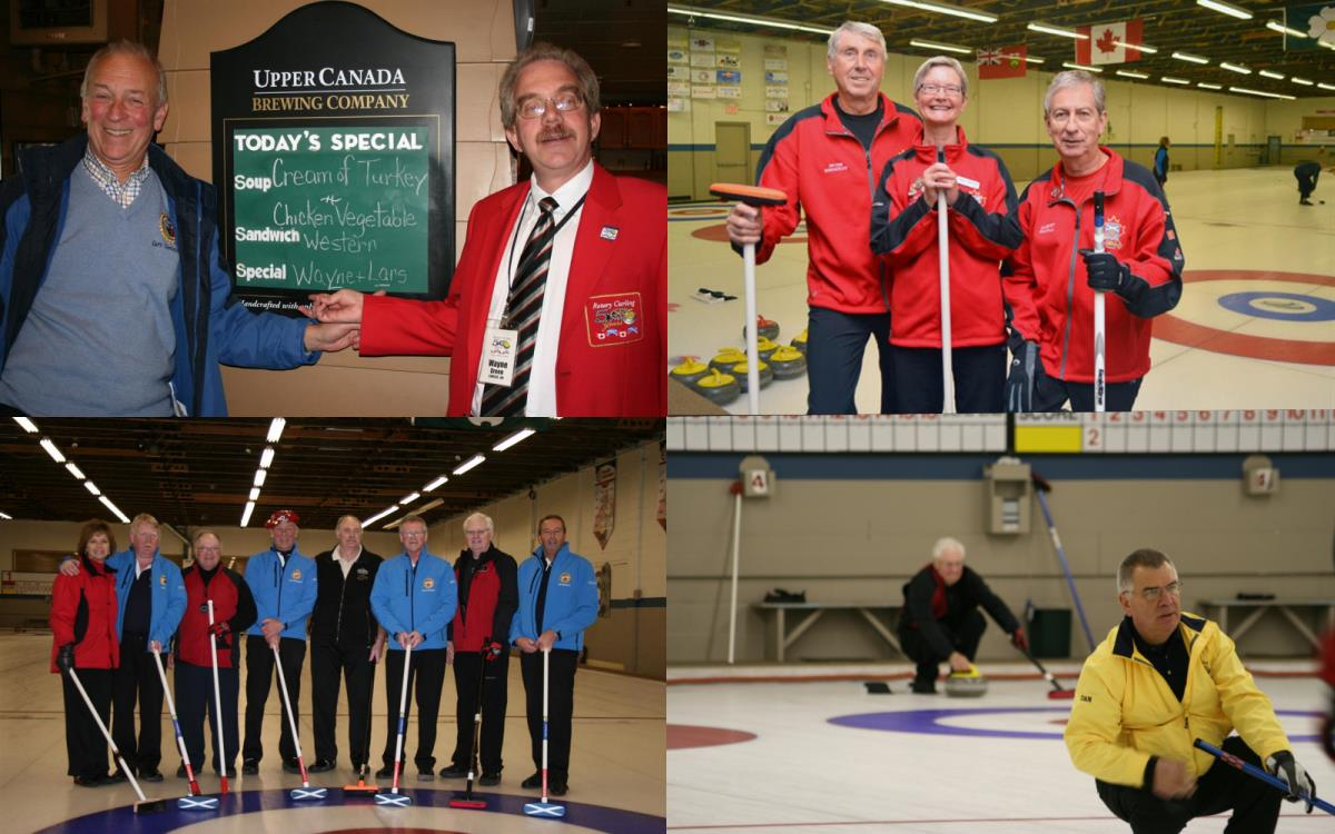 Simcoe Rotary and Scottish Curlers
