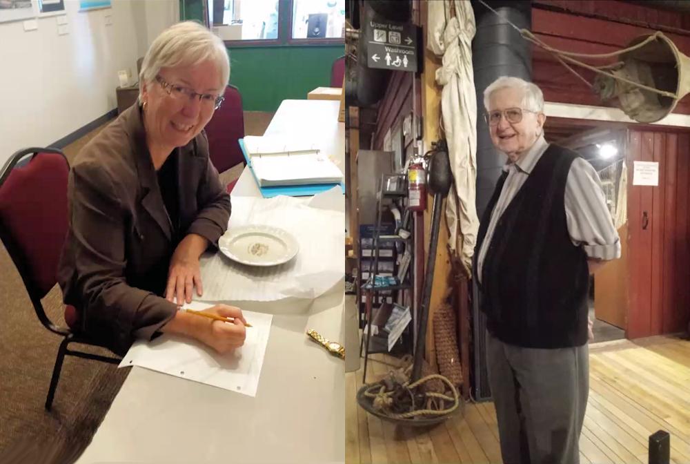 Rotarians Margaret Bancroft and Bob Perks