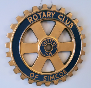 Club's Rotary Emblem