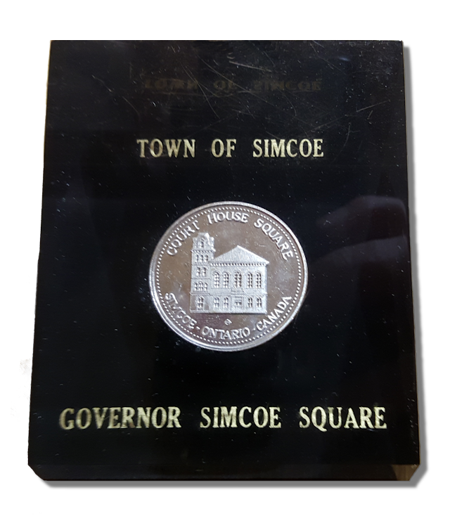Town of Simcoe Paperweight
