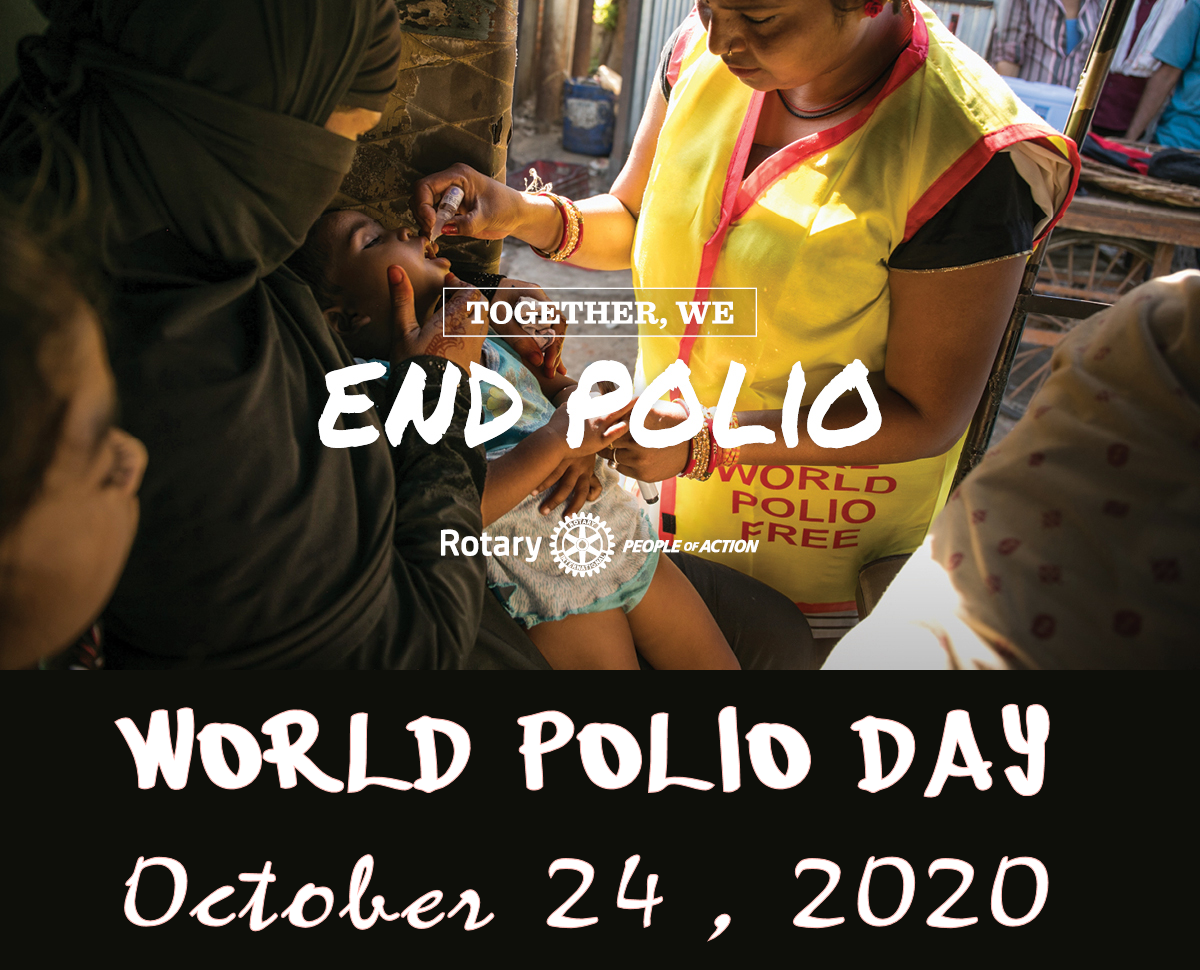 World Polio Day - October 24, 2020