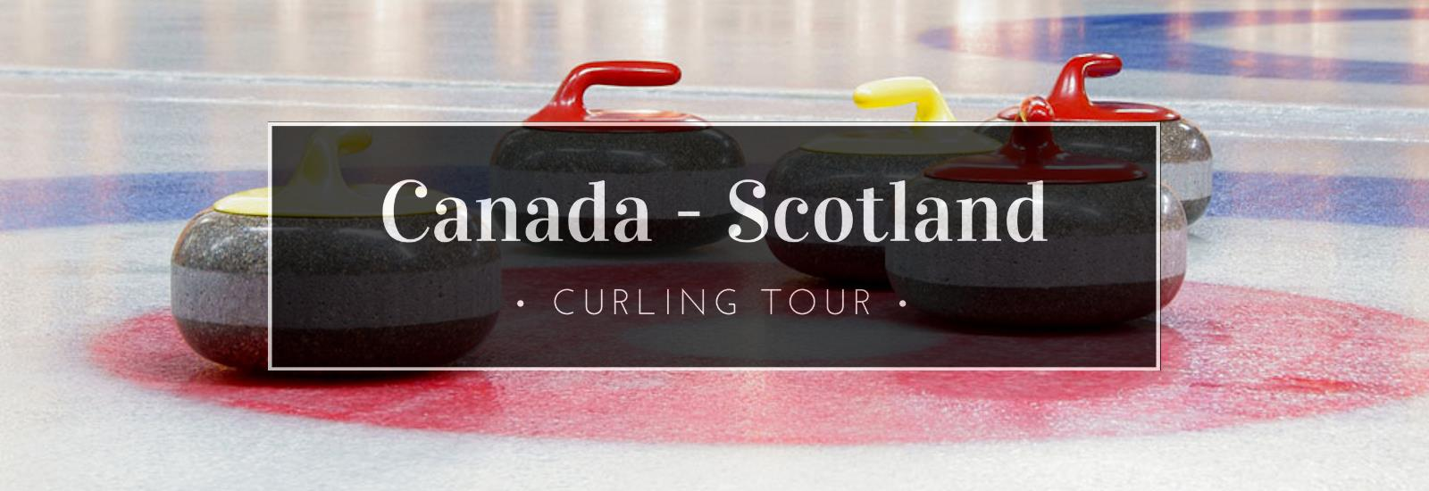 Canada and Scotland Curling Banner