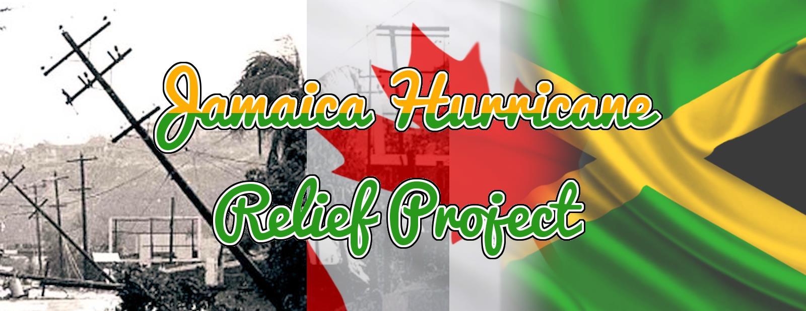 Jamacian Hurricaine Relief Project 1988-1989