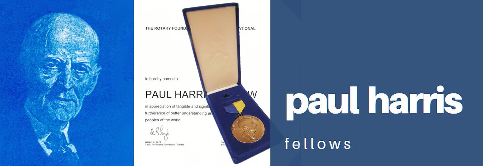 Paul Harris Fellows Banner
