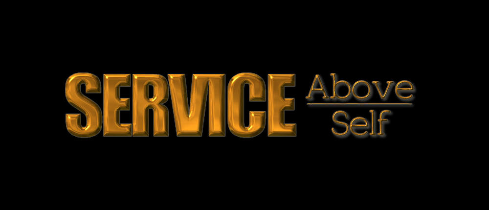 Service Above Self Motto