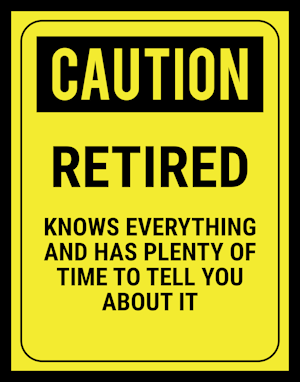 Caution - Retired