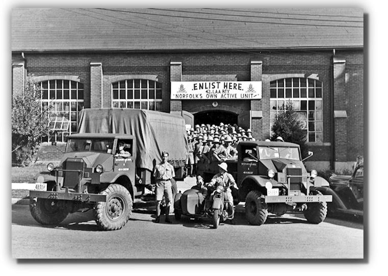 Simcoe Armoury 1939
