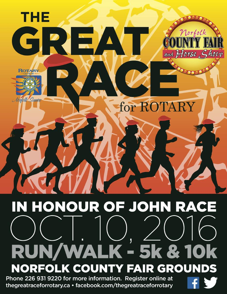 The Great Race For Rotary