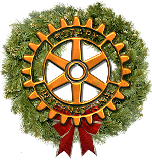 Rotary International Christmas Wreath
