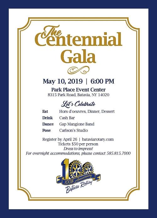 Centennial Gala Tickets