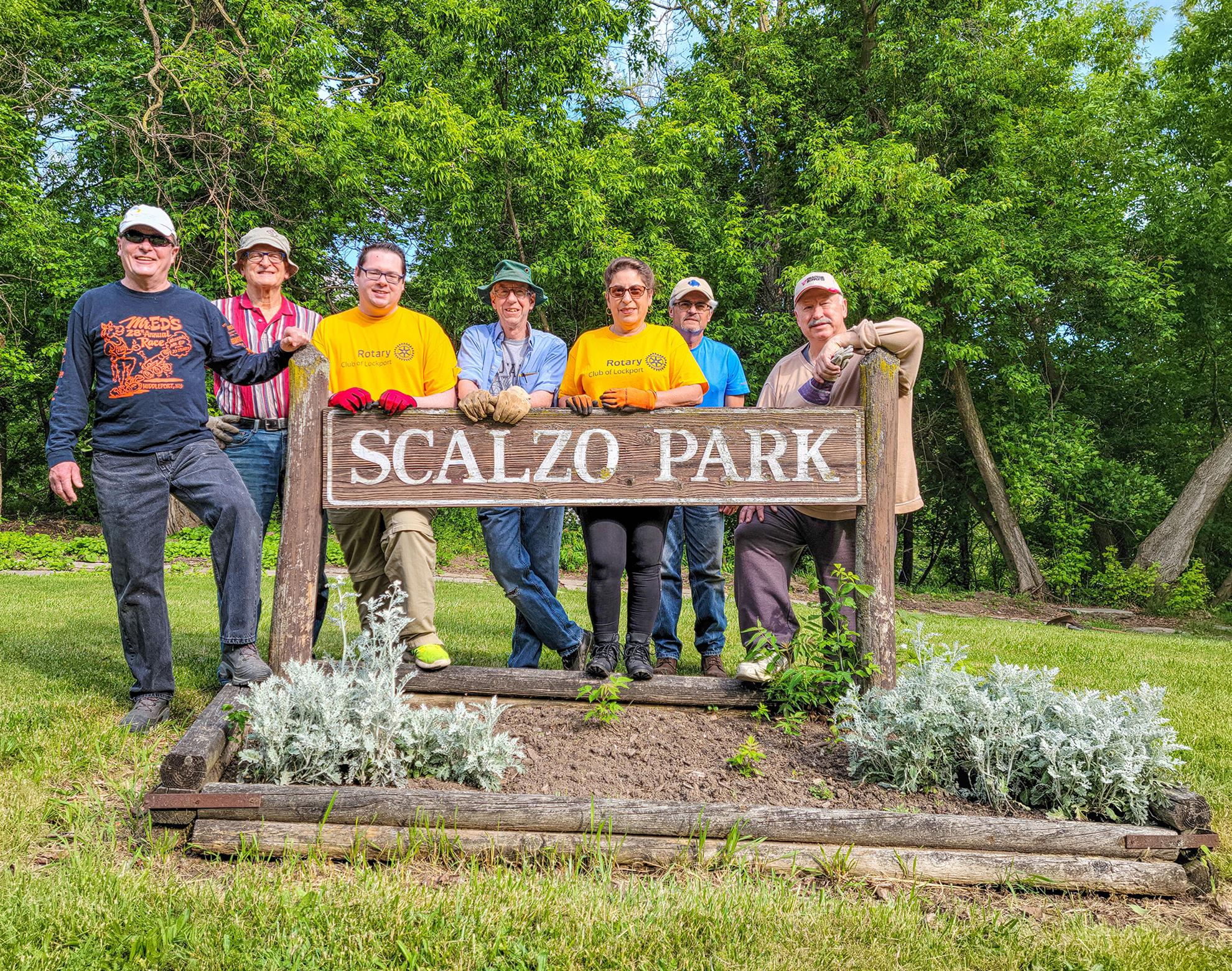 Scalzo Park Cleanup