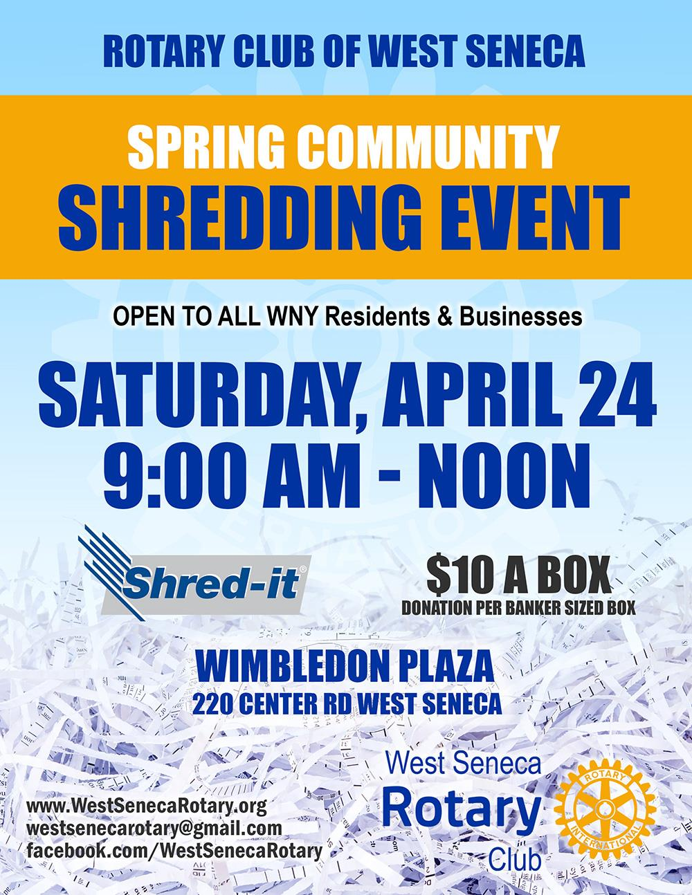 Spring Shred-IT