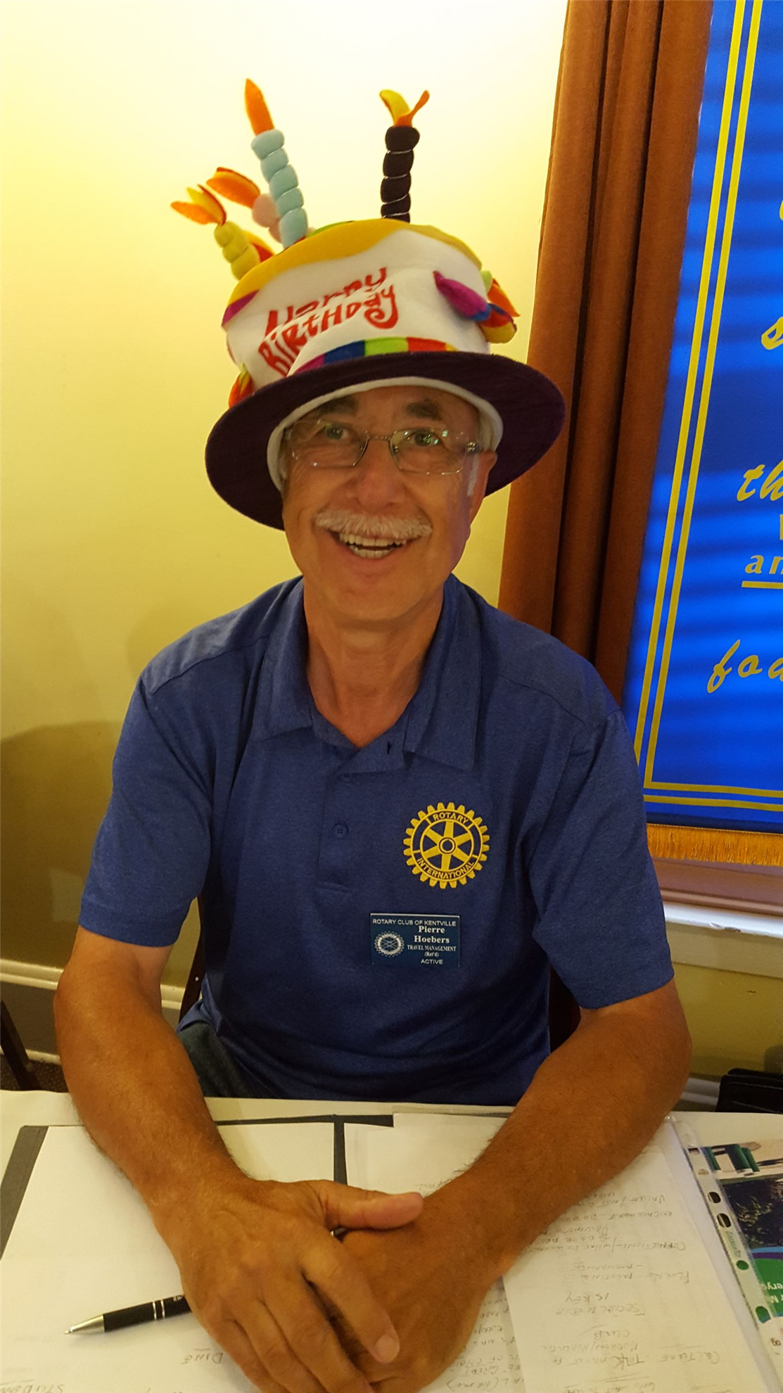 Stories Rotary Club Of Kentville District 7820 Tendencies Caps Savage Navy As It Turns Out Was Pierres Bd Today 70yrs Young So He Begrudginly Wore The Hat And That Took Care Our Singing