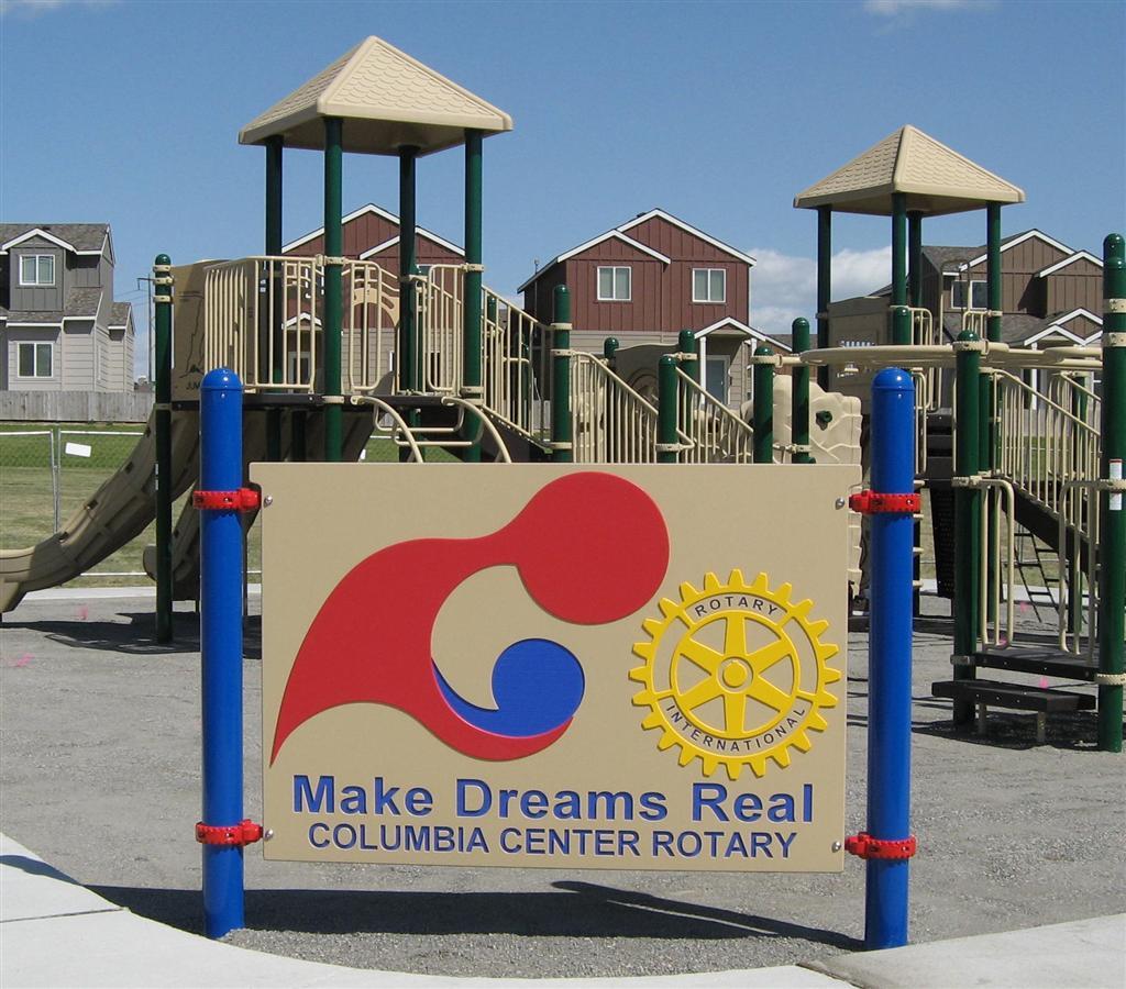 Hansen Park Playground Equipment - Kennewick WA | Rotary