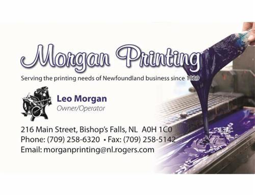 Morgan's Printing